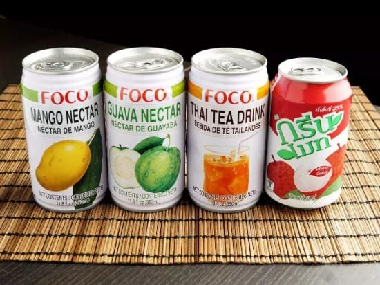 タイのミルクティー350ml缶  / Thai Style Milk Tea